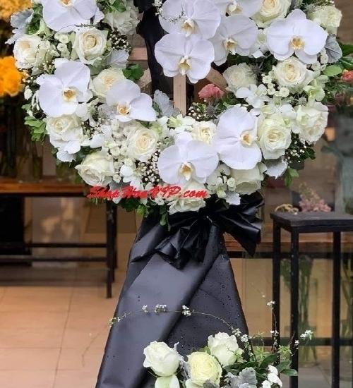 Cách chọn mua hoa tang lễ quận 12 giá rẻ, đẹp tinh tế