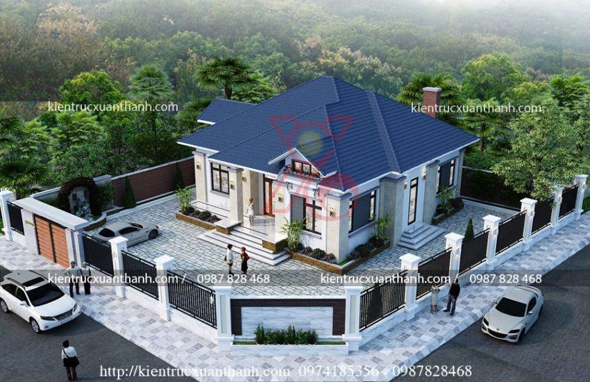 Vì sao mẫu biệt thự 1 tầng mái thái được ưa chuộng. 850x550 - Vì sao mẫu biệt thự 1 tầng mái thái được ưa chuộng?