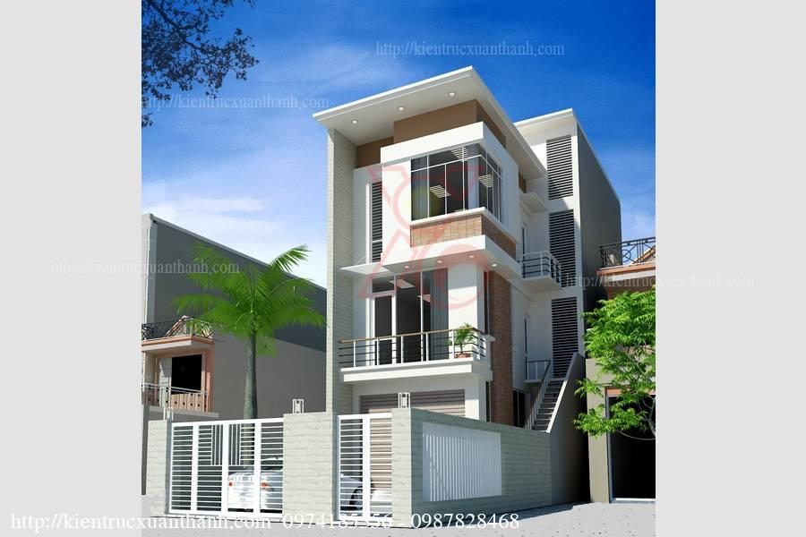 Xây dựng giếng trời cho nhà phố 4 tầng đẹp - Xây dựng giếng trời cho nhà phố 4 tầng đẹp