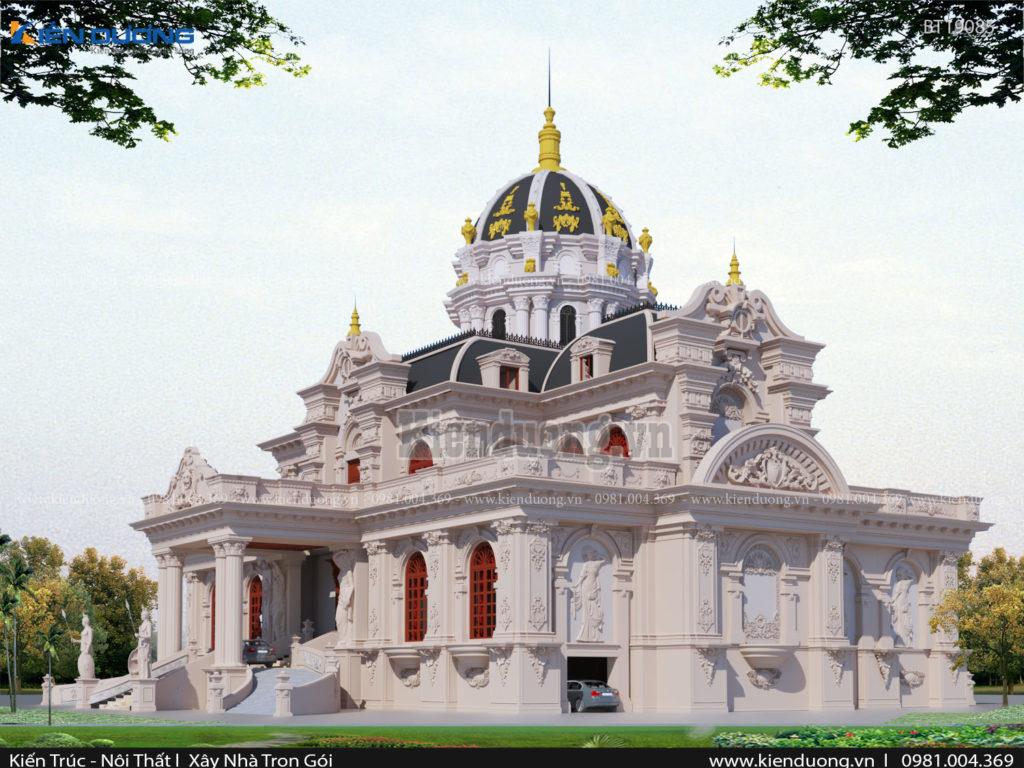 8. Thiết kế lâu đài cần lưu ý gì 2 1024x768 - Thiết kế lâu đài tân cổ điển cần lưu ý gì?