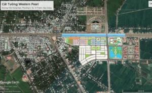 Dự án cát tường western pearl được xây dựng tại tỉnh Hậu Giang